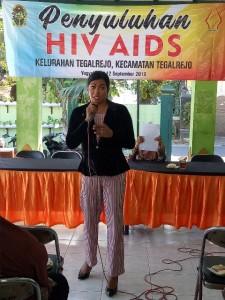SOSIALISASI HIV/AIDS