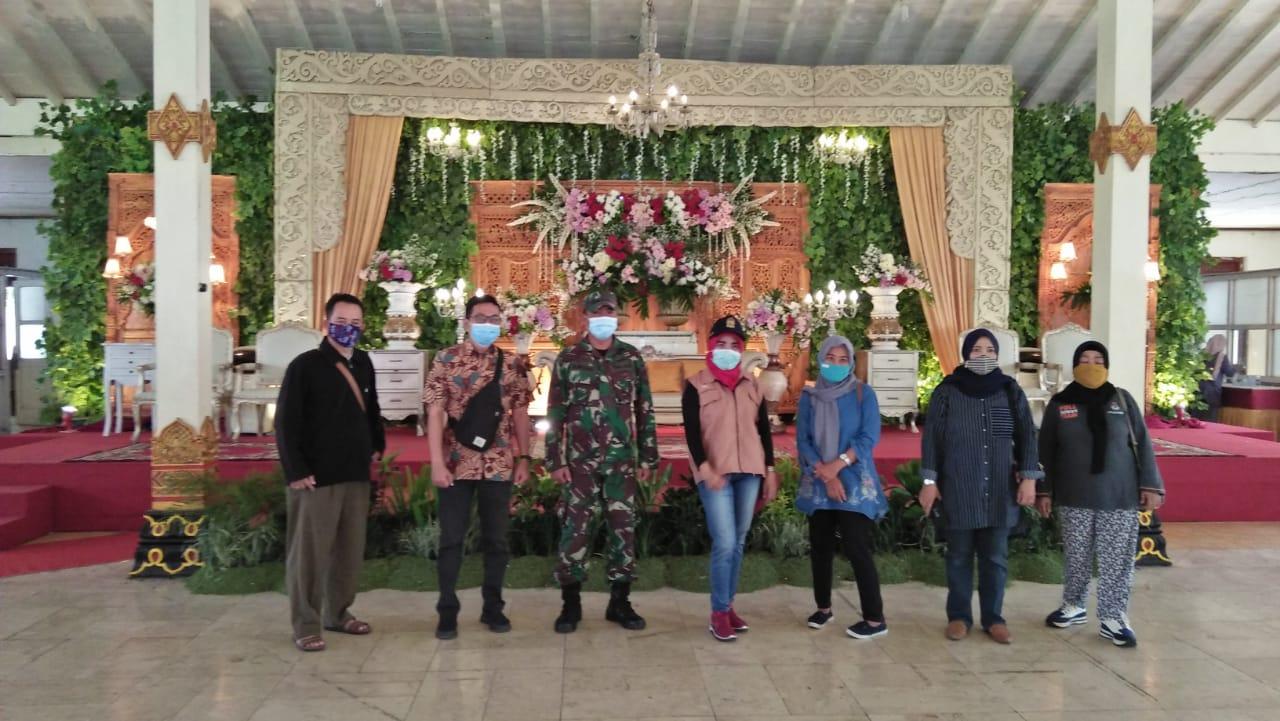 kunjungan Tim Gugus penanganan pencegahan Covid 19 di Monumen Diponegoro tgl. 18 Oktober 2020